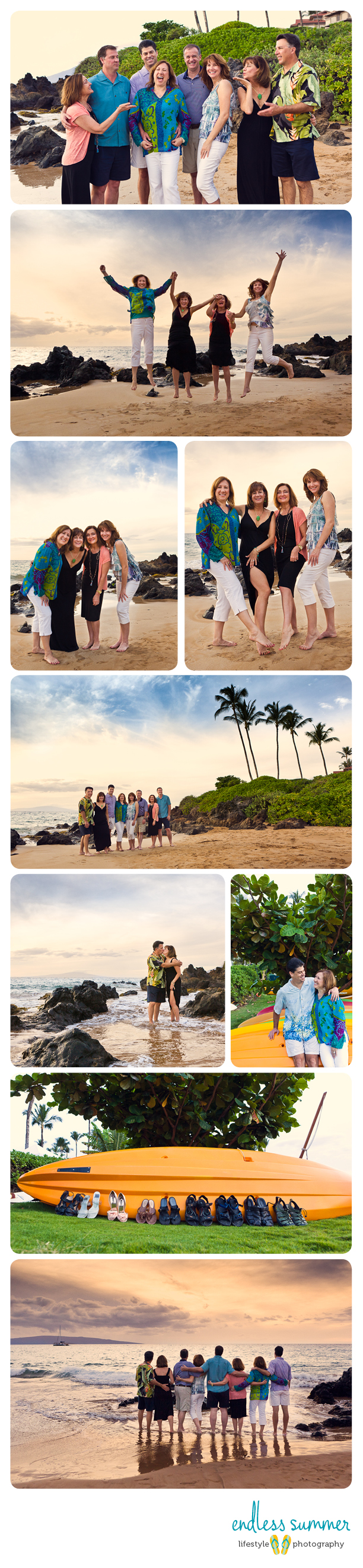 Maui Hawaii Beach Portraits